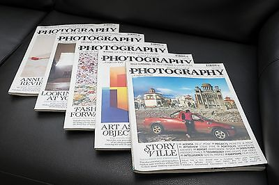 British Journal of Photography- 5 issues dated 2012