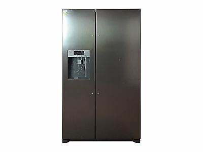 JLAFFS2011 American Style Fridge Freezer, Silver - g3236841