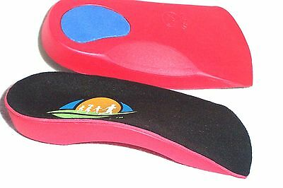 2 PAIRS - FootTrek™ 3/4 Length Orthotic Insoles for Plantar Fasciitis, Flat Feet