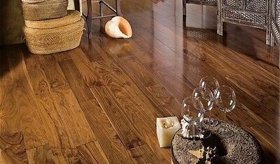 SALE NOW ON!! American Walnut Lacquered Flooring 148x15/4mm EW1574--Samples