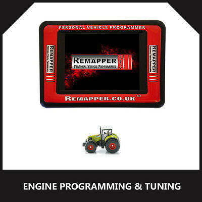 Claas Tractor - ECU Remapping | Engine/Chip Tuning | ECU Programming Tool