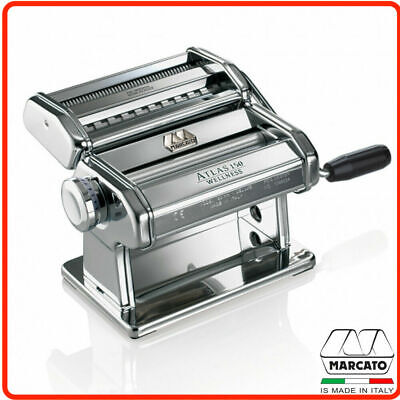 ❤ Marcato 2700 Atlas 150 Silver Wellness Pasta Machine MADE IN ITALY RRP $139 ❤