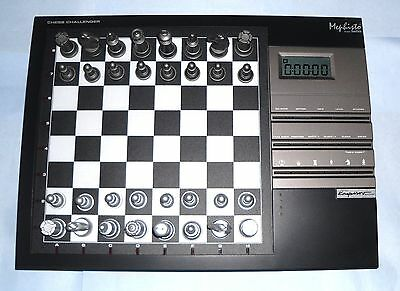 ideal gift Mephisto Challenger electronic Chess Computer by Saitek