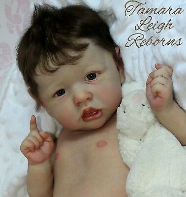 ***CUSTOM*** Reborn Baby Boy/Girl Doll - from Saskia by Bonnie Brown Kit