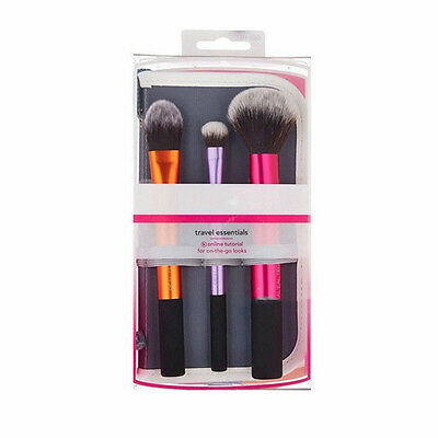 2017 New Techniques Make up Brushes TRAVEL ESSENTIALS Set Full Foundation Sets