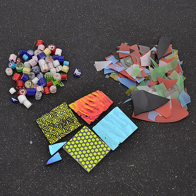 Multicolor Confetti Glass Chips Fusing Supplies DIY Jewellery Fusible Handmade