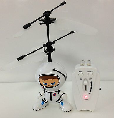 R C Kids Gift Electronic Toys Flying Saucer UFO Robot Spaceman Infrared