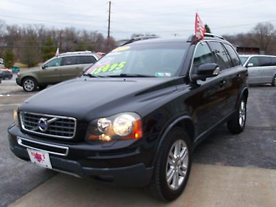 2011 Volvo XC90 3.2 4X4 CLIMATE W BLIS VOLVO SUV 4X4 ALL WHEEL DRIVE INSPECTED WARRANTY NICE CLEAN TRADES OFFERS WELCOM