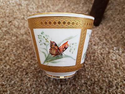 Coalport cabinet cup 19c painted by John Randall