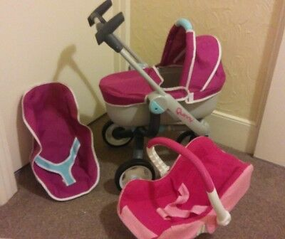 Quinny maxixosi 2 in 1  pram and carry cot plus car seat  2016 model by somoby
