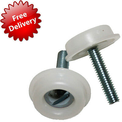 2 x Bed Head board headboard Bolts Screws with Plastic Washers for divan beds