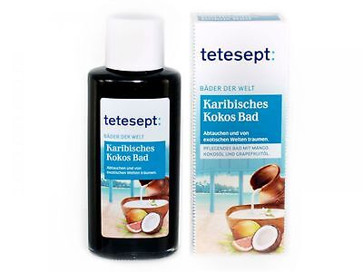 (4,79€/100ml) tetesept Karibisches Kokos Bad (125ml)
