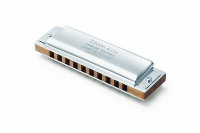 Tiffany & Co. 925 sterling silver harmonica, made by Hohner