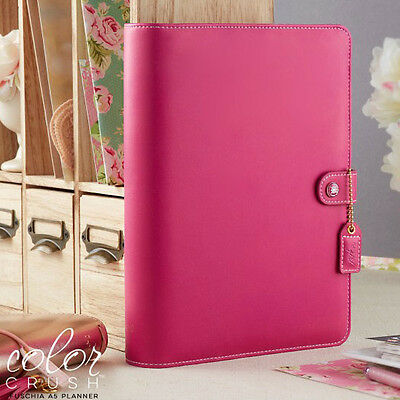 NEW Websters Pages Fuchsia A5 Planner - Binder Only