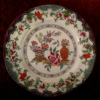 M and Co. Vintage Plate. Poonah.  (Minton?)