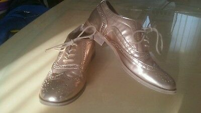 rose gold brogues size 6