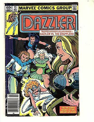 Dazzler  #13   about   8.5  UnRestored, Nice (5)
