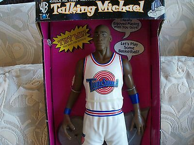 1996 WARNER BROS.SPACE JAM Talking Michael new in box NBA Star Michael Jordan