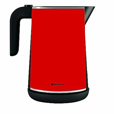 Hotpoint Jug Kettle, 1.7Ltr  3Kw in Red - WK30MAR0