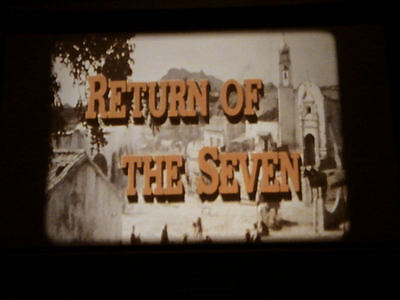 16mm film RETURN OF THE MAGNIFICENT SEVEN (1966) - Yul Brynner