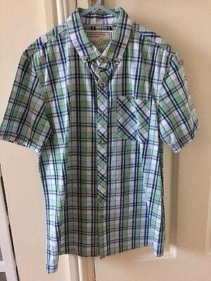 Next Boys Checked Shirt Age 12 Years