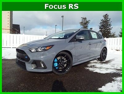 2017 Ford Focus 2017 Focus RS AWD Turbo Brembo Brakes Forged Wheel New 2017 Focus RS AWD Turbo 2.3L 6-speed Manual Stealth Paint Forged Wheels