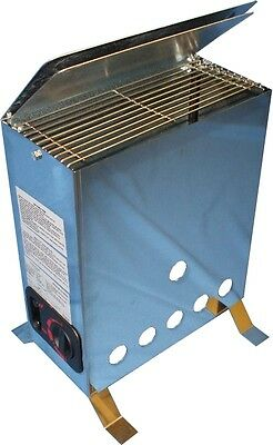 Gas Greenhouse Heater 4 kW Thermostatically controlled 2m Hose and Regulator