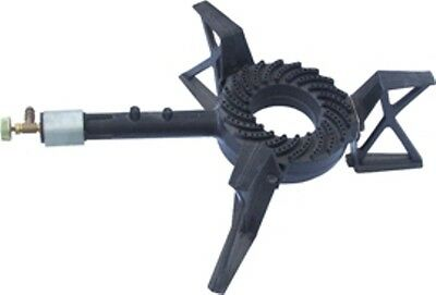 Large Tripod LPG Gas Burner Cooker Cast Iron Gas Boiling Ring
