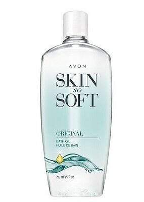 Avon Skin So Soft Bath Oil Bonus Size Original Scent 25 Oz. Free Shipping