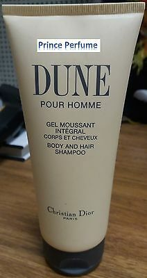 DIOR DUNE POUR HOMME BODY AND HAIR SHAMPOO - 200 ml