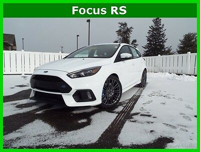 2017 Ford Focus New 2017 Ford Focus RS Rally Car! Brembo Recaro New 2017 Focus RS AWD Turbo 2.3L 6-Speed Manual Hatchback Moonroof Brembo Sync 3
