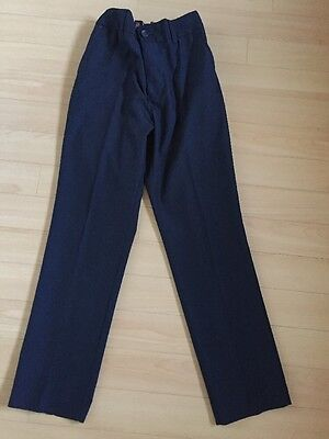 Next Boys Smart Navy Trousers Age 12 Years