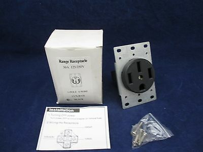 Arrow Hart Ranger Receptacle LUX-R50S NEMA 14-50R new