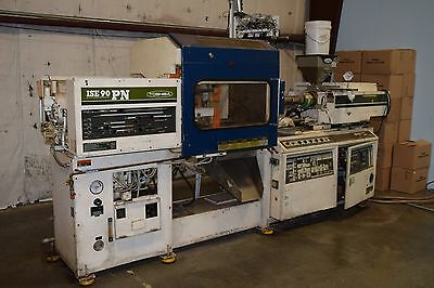 Toshiba ISE 90 Ton Injection Molding Machine