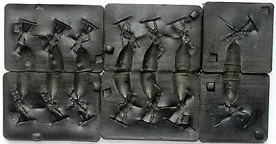 prince august moulds 25mm napoleonic french infantry & guard
