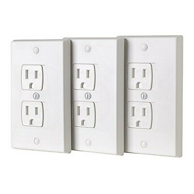 Ziz Home ZizHome Universal Electric Outlet Cover - Self Closing Baby Proofing