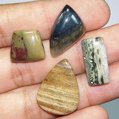 49.2Cts 100% NATURAL TOP MIX STONE   LOOSE CAB GEMSTONE PO499