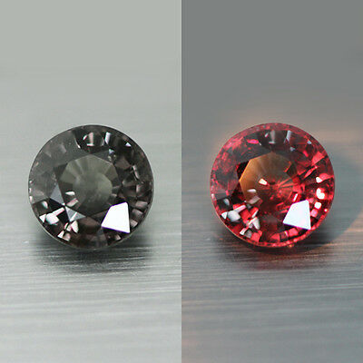 1.97Cts Unique Rare 100% Natural Earth Mined Aaa++ Top Color Change Garnet Gem!