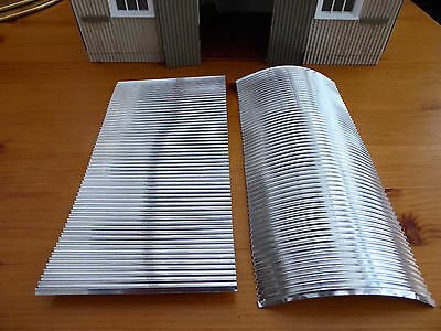 Model Corrugated iron for Garden Railway.