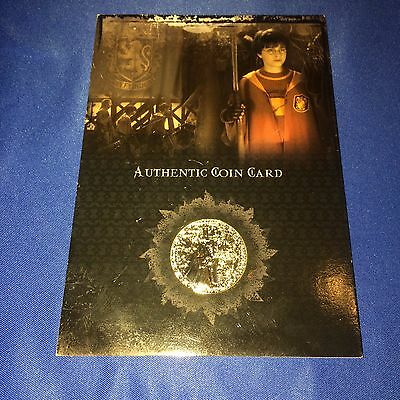 Harry Potter and The Sorcerer's Stone Authentic Coin Card~#CC1~LOOK~