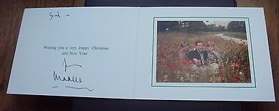 1994 Original Genuine Hand Signed Christmas Card By Prince Charles With Envelope
