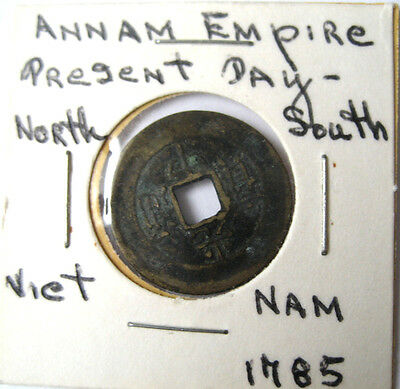 1785 Annam Empire Vietnam KM140  Phan Coin * Great Starter for your collection