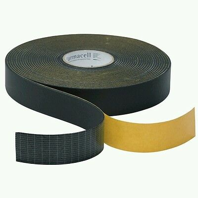 Armaflex Pipe Insulation Tape Black Rubber 15 meters x 50mm x 3mm