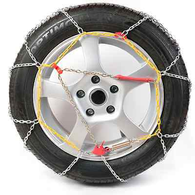 Polar Easy-Fit 9mm Snow Chains 225/45/17 for Cars