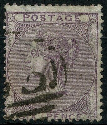 SG 70 GB QV 6d Pale Lilac Used (Ref: A524)