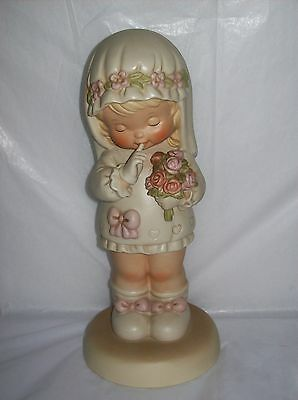Enesco Memories Of Yesterday Here Comes The Bride God Bless Her! 1988 #520527