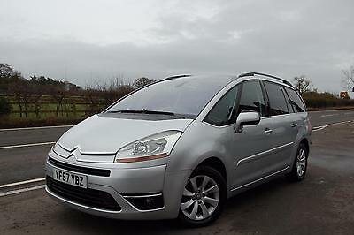 2007 CITROEN C4 GRAND PICASSO 2.0HDi 16V Exclusive 5dr EGS
