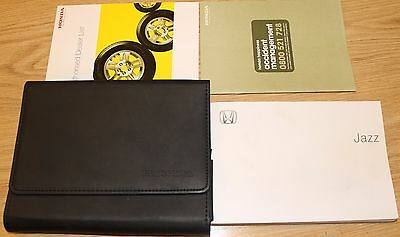 Honda Jazz Owners Manual Handbook With Wallet Audio System 2005–2008 T1777