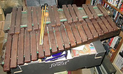 old wooden xylophone