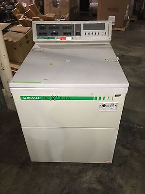 Sorvall Model Rc-3C Plus  Centrifuge With H6000 6X1000Ml Rotor And Warranty